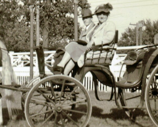 Carriage Ride:  Lenora and Herbert
