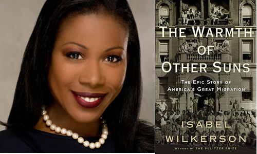 Isabel Wilkerson and book