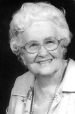 Lora Adelle Blackledge Hilton, age 90